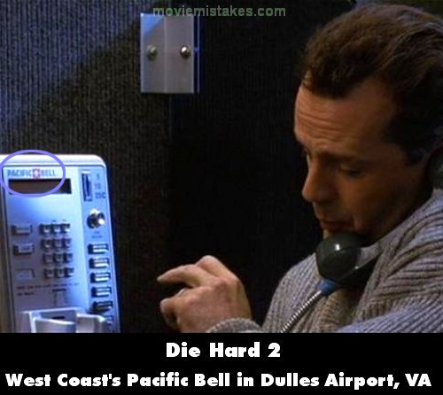 PacBell phone in Die Hard 2
